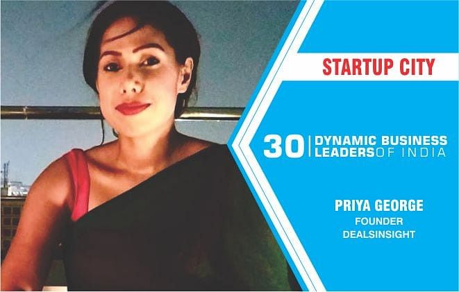 Priya George of DealsInsight making inroads in the Sales consulting industry