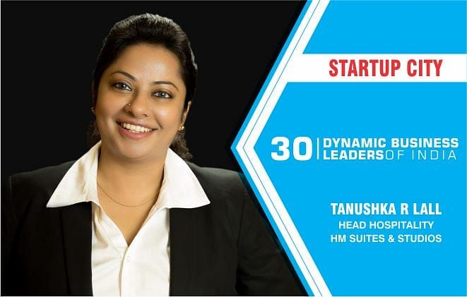 Tanushka R Lall of HM Suites & Studios, a name that has brought smiles on many faces