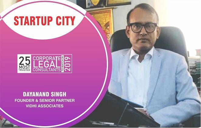 Dayanand Singh: a diligent attorney, taking Indian law beyond conflicts with Vidhi Associates