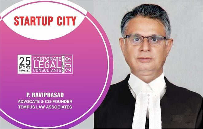 Tempus Law Associates & P. Raviprasad, Advocate and Co-founder: innovating the legal system with knowledge and wisdom