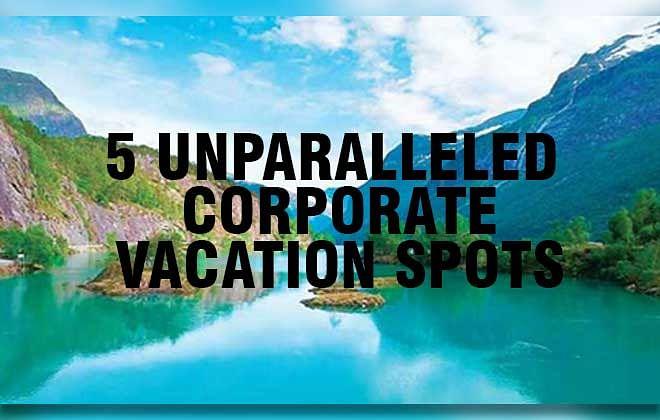 5 Unparalleled  Corporate Vacation Spots near New Delhi
