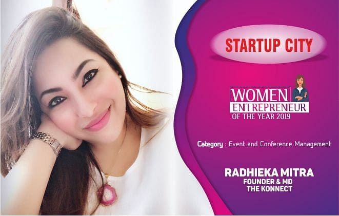 Radhieka Mitra: an accomplished businesswoman, making it happen with The Konnect – An Event & Conference Management Company