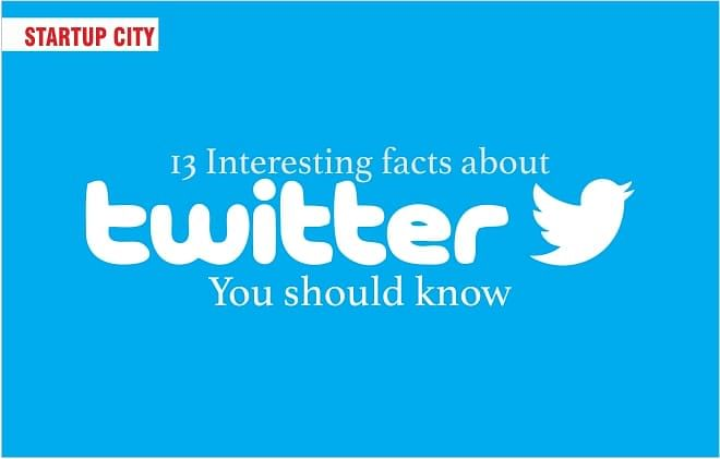 13 INTERESTING FACTS ABOUT TWITTER, YOU SHOULD KNOW