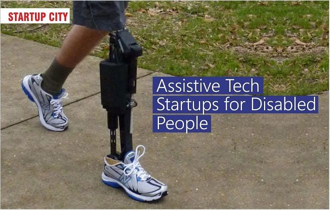 Assistive Tech Startups for Disabled People