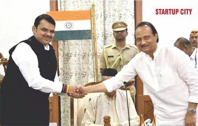 Unlikely Alliance between BJP and NCP