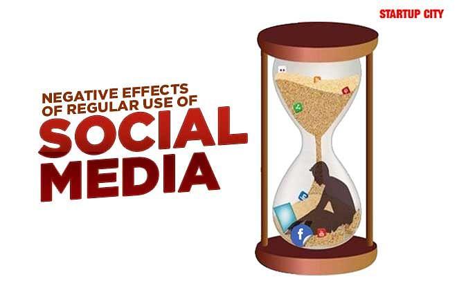 Negative Effects of Regular Use of Social Media