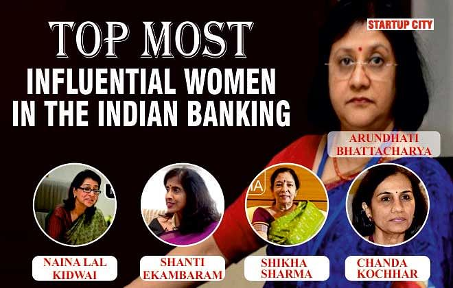 TOP MOST INFLUENTIAL WOMEN IN THE INDIAN BANKING