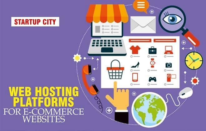 Web hosting platforms for e-commerce websites