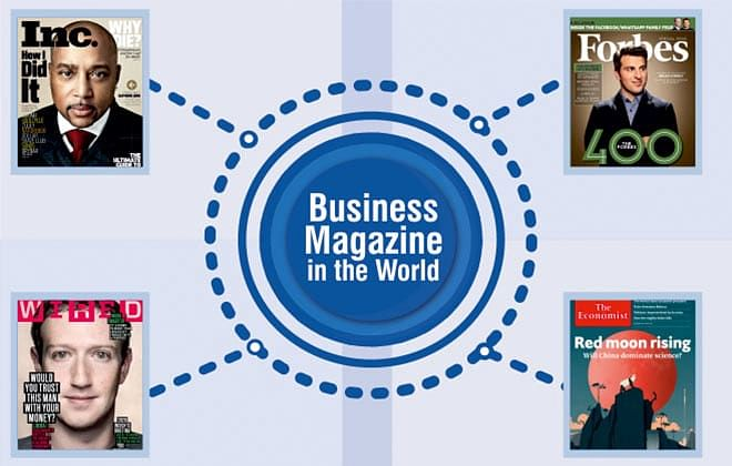 10 Most Eminent Business Magazines In The World