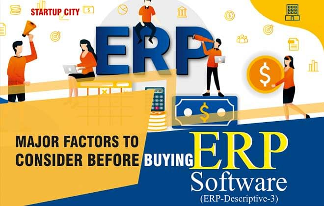 Major Factors to Consider Before Buying an ERP Software
