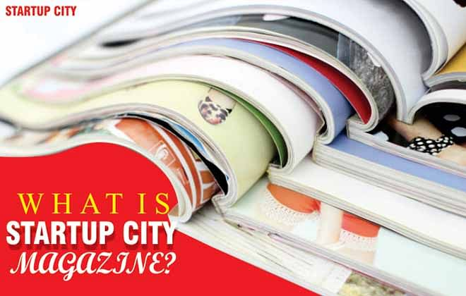 What is the Startup City Magazine?