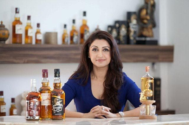 It's Lisa Srao, who runs her liquor products in the male-dominated Industry in India