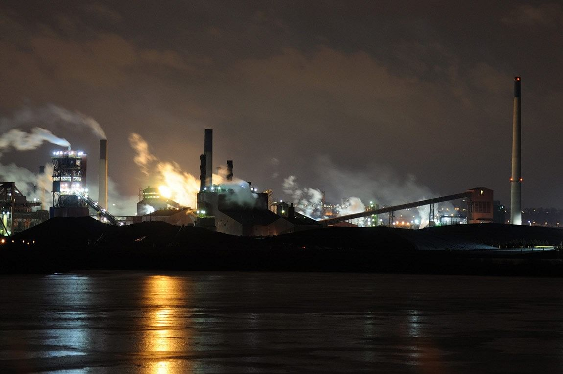 Molten Metal Spill Reported at ArcelorMittal Dofesco