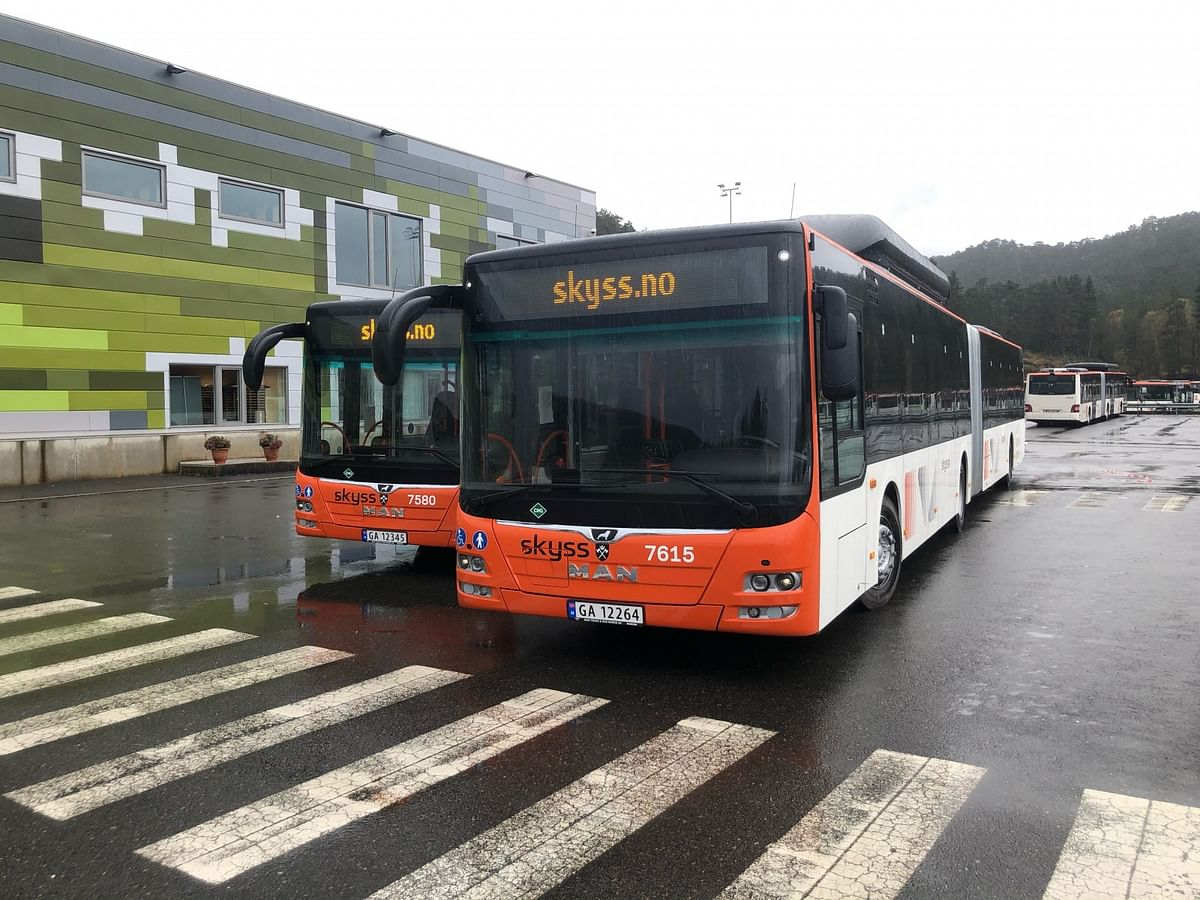 125 MAN City Buses with Biogas Drive Systems for Bergen