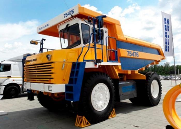 BELAZ Mining Vehicle Gas Projects in Khibiny & Mirny of ALROSA
