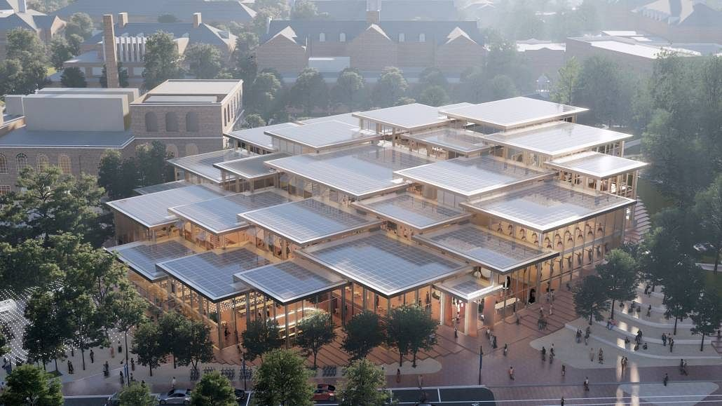 Design Concept Selected for Hopkins Student Center