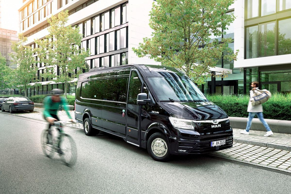 MAN Minibus Range with TGE Coach Touring Vehicle