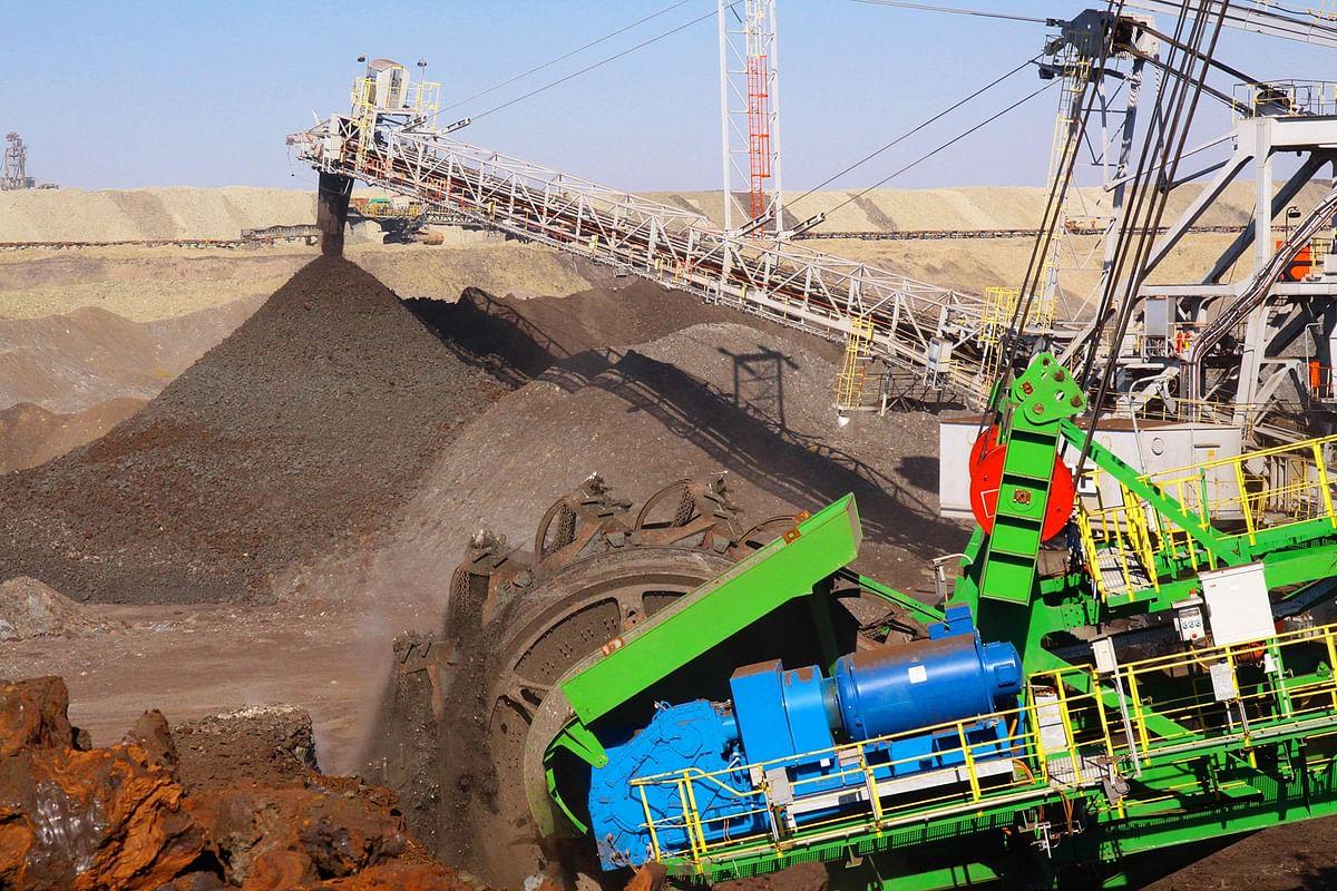 Coal Miner Mini Maritsa Iztok Floats Tenders for Conveyor Belts