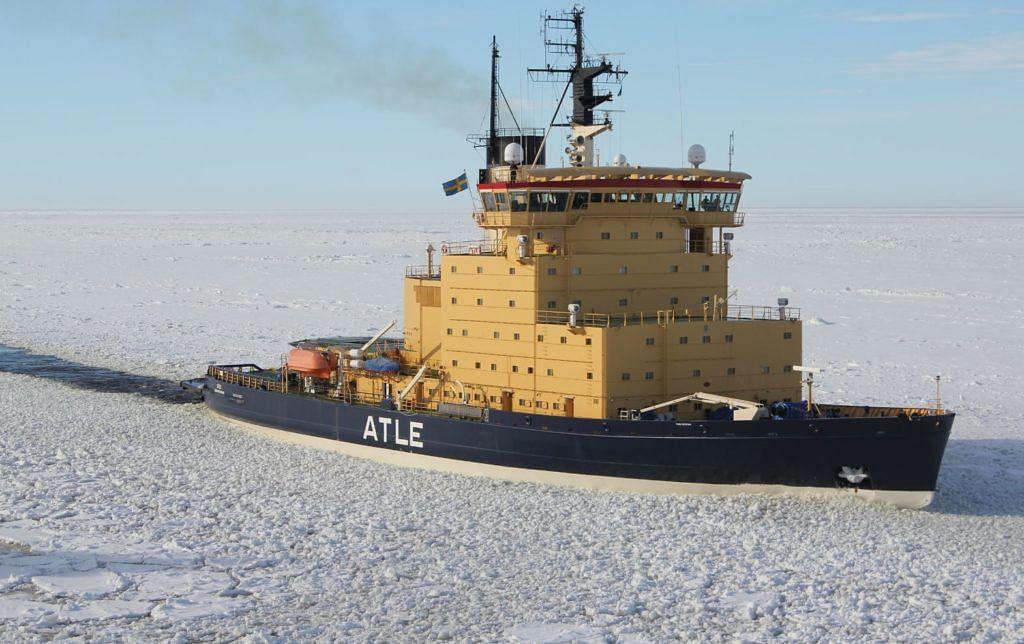 Aker Arctic Designs Next Generation Swedish & Finnish Icebreakers