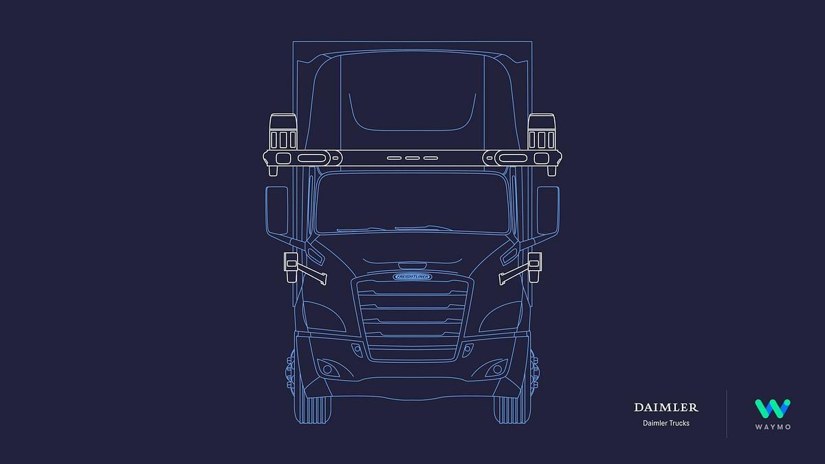 Waymo & Daimler Trucks Developing Fully Autonomous Trucks