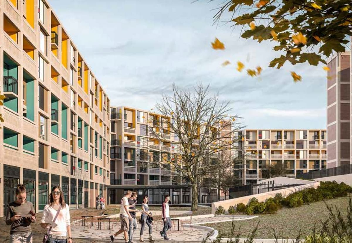 Kier Completes Park Hill Flats in Sheffield