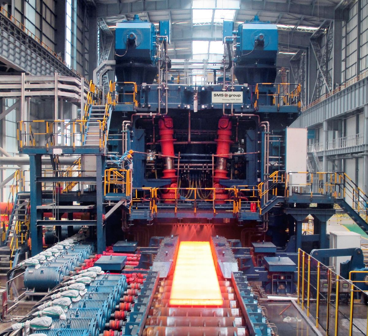 HBIS Laoting Commissions Hot Strip Mill Supplied by SMS Group