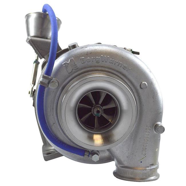BorgWarner Optimizes S410 Turbocharger for Mercedes-Benz