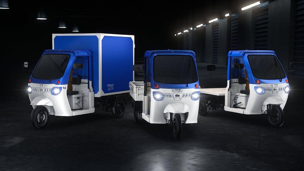 Mahindra Launches New Treo Zor Electric 3-Wheeler Cargo