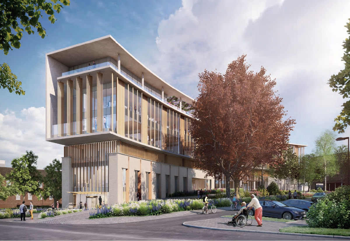ISG to Build Oak Cancer Centre at The Royal Marsden in London
