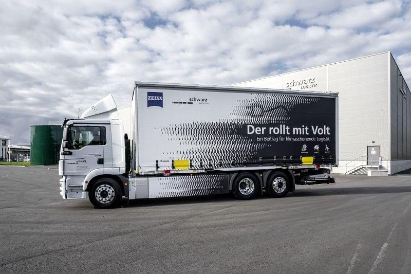 Schwarz Logistik Commits to Electric Distribution Truck MAN eTGM
