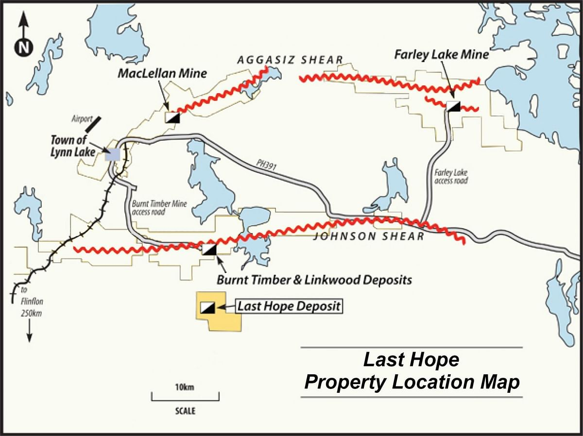 55 North Mining Starts Drilling on Last Hope Gold Project