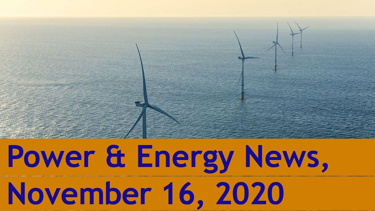 SteelGuru Business News | Power & Energy | November 16, 2020