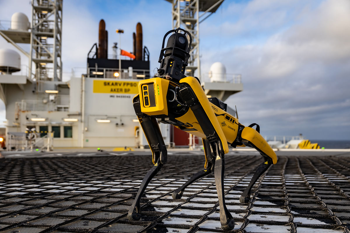 Aker BP & Cognite Pioneer Robotics Deployment Offshore