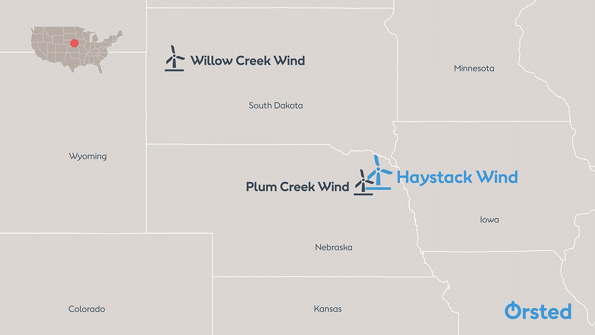 Orsted Starts Construction of Nebraska Wind Project