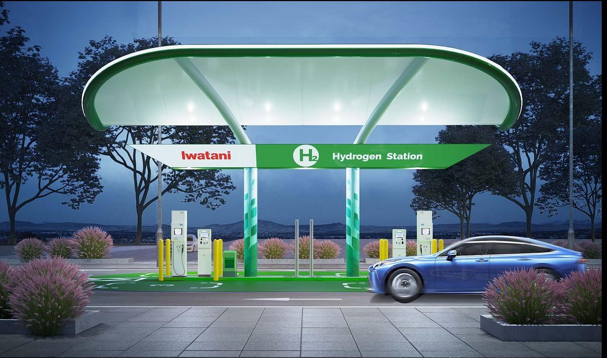 Iwatani & Toyota Hydrogen Refueling Station in Southern California