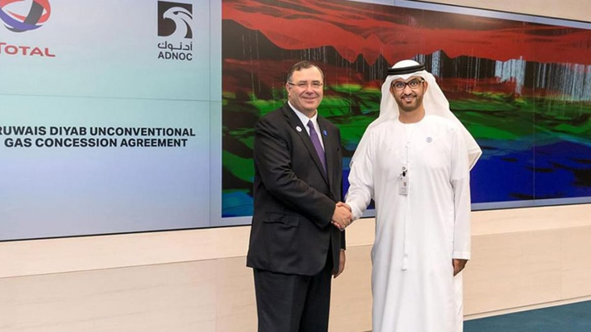 Total & ADNOC Ink Pact on CO2 Emissions Reduction & CCUS