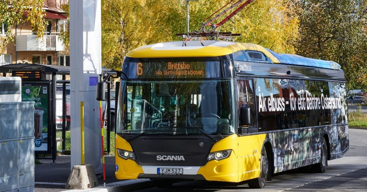 Ostersund Expands Electric Bus Operations with Scania Citywide