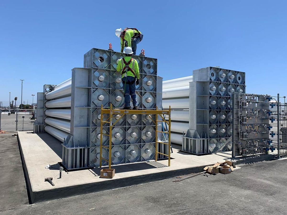 Tenaris Vessels for California Refueling Network of Nel Hydrogen