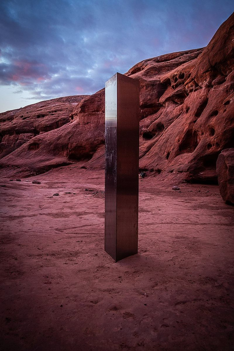 Metal Prism Found in Remote Desert of Southern Utah Disappears