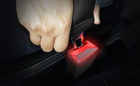 SKODA Patents Illuminated Smart Seat Belt Buckle