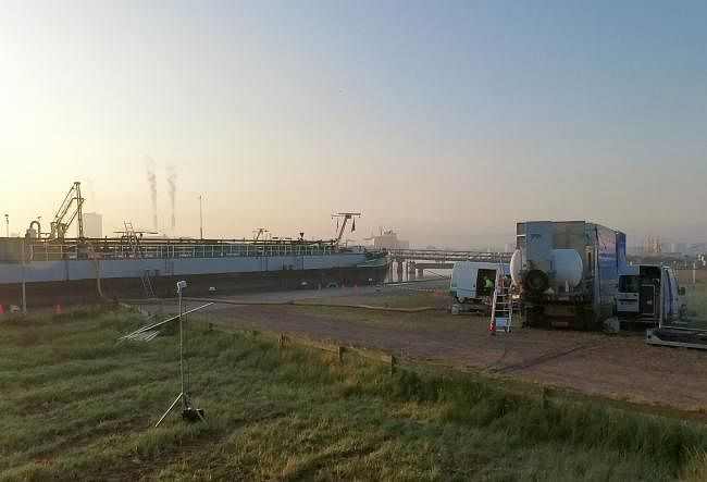 Amsterdam Port Facilitates Degassing Tests for Barges