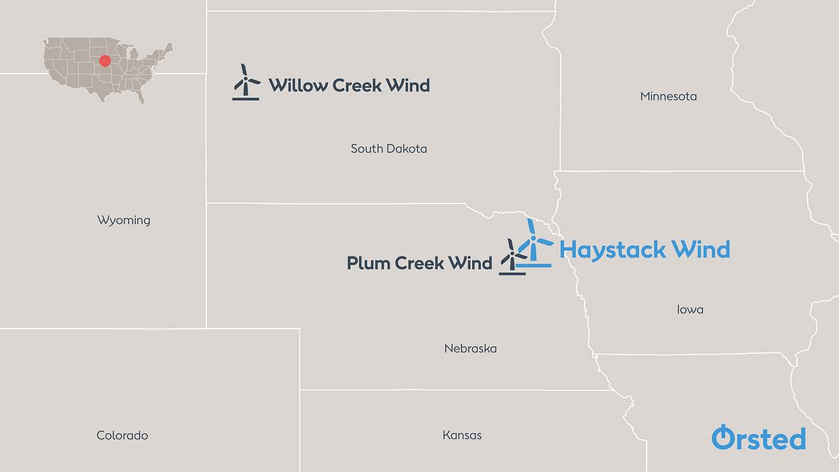Orsted Starts Construction of Nebraska Wind Project