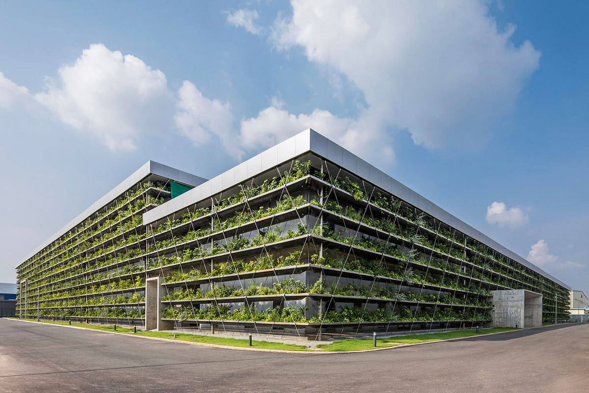 Naturally Ventilated Manufacturing Halls Jakob Factory in Vietnam