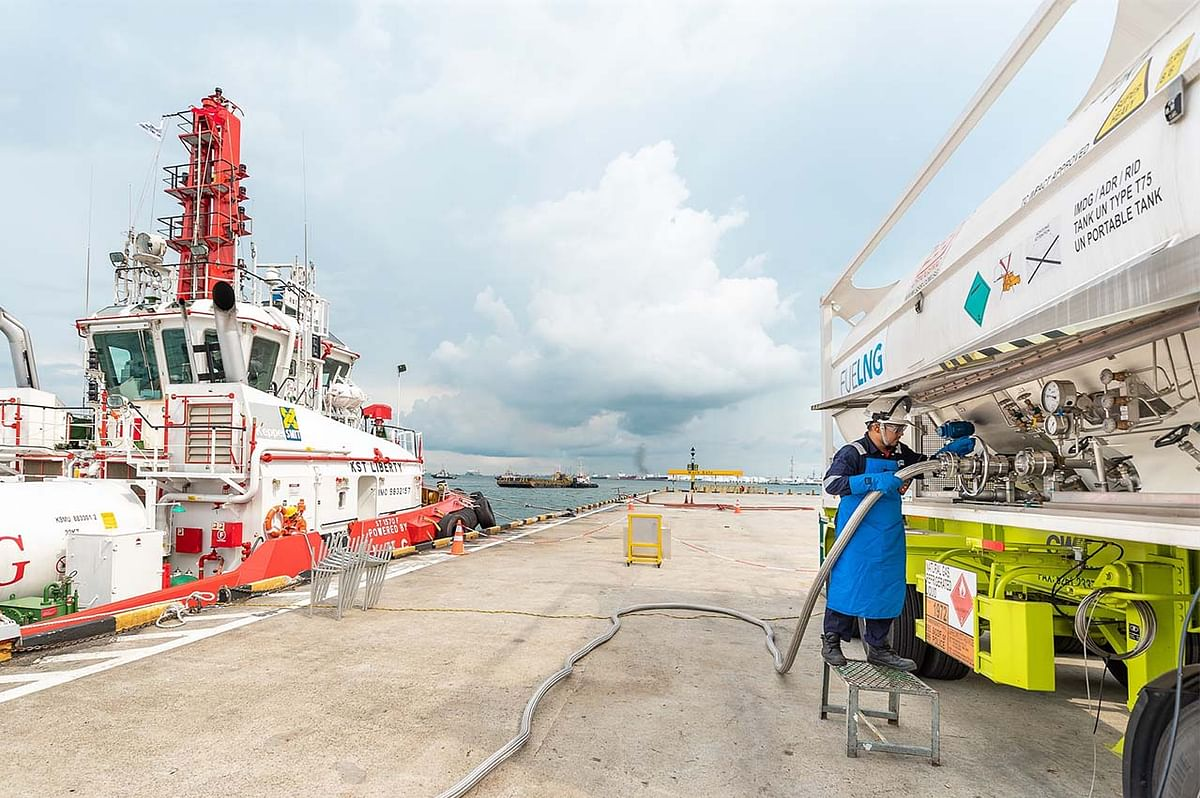 Global LNG Fuel Bunkering Brand Gas4Sea Terminated