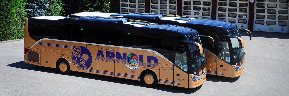 Daimler Setra Coaches for Bavaria