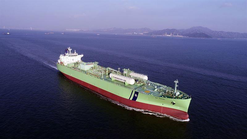 LPG Fuelled VLGC Undergoing Sea Trials with Wartsila Fuel System