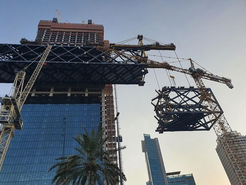 World's Longest Cantilevered Building at One Za'abeel in Dubai