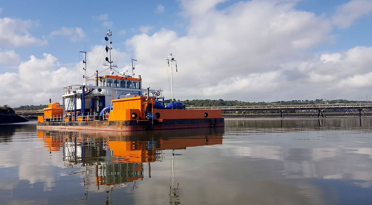 Port of Rotterdam Performing Trial with Water Injection Dredging