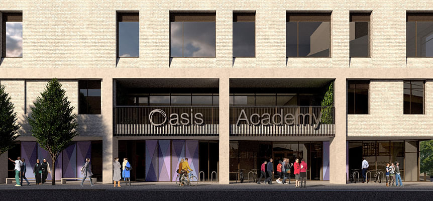 Work starts on Oasis Academy Silvertown in Newham