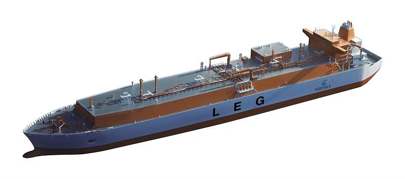 Wartsila Cargo Handling System Design for Ethane Carrier Vessels